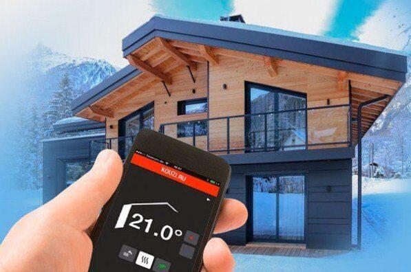 удаленный контроль температуры в доме